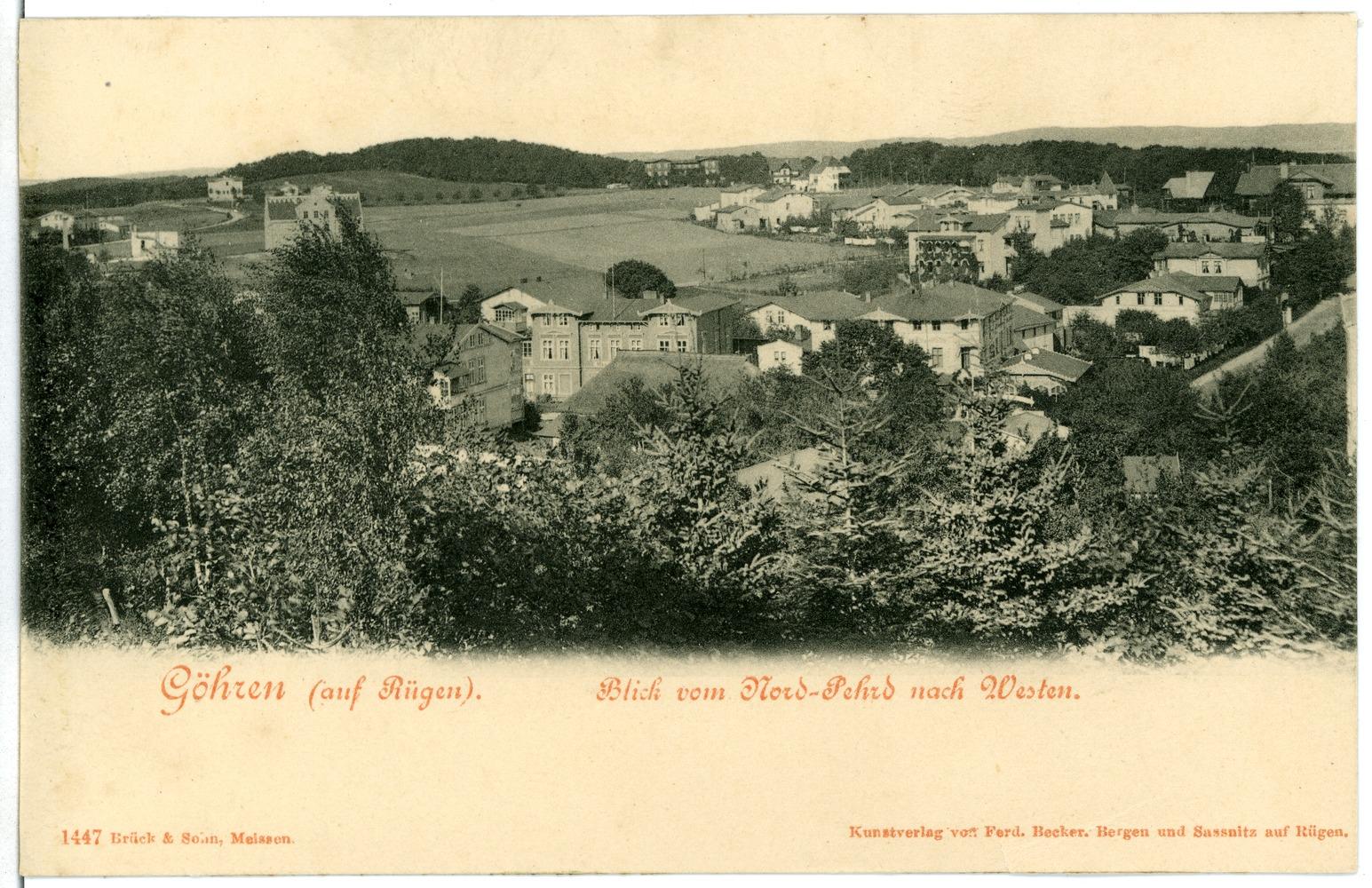 Ansicht Göhren um 1900